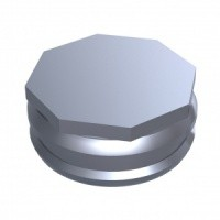 Locator metal housing 4 stuks