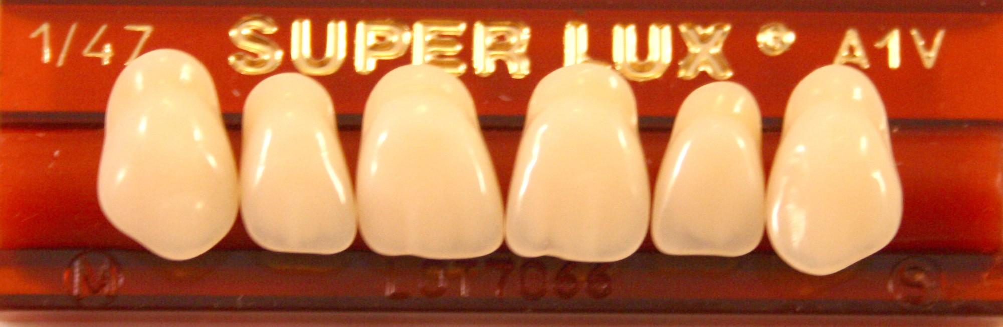 Tanden onder Major Superlux