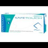 Safetouch latex handschoenen poedervrij